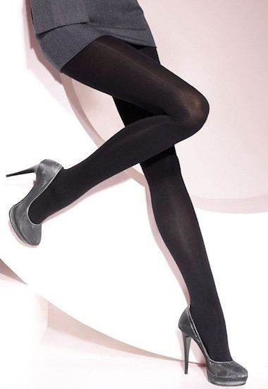 Lucido 100 Den Glossy Opaque Tights by Lores