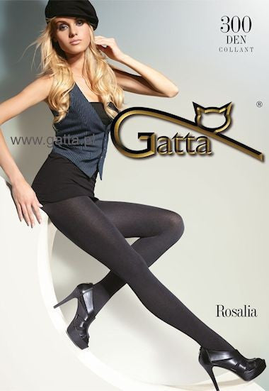 Rosalia 300 Denier Micro Fleece Opaque Tights by Gatta