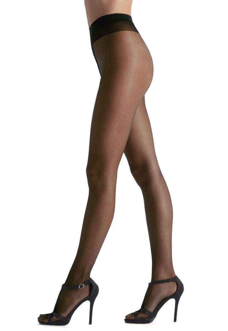 Sensuel Luxury 30 Den Sheer Tights by Oroblu in Black