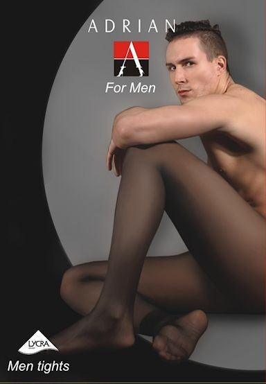 Street 20 Denier Sheer Tights for Men by Adrian