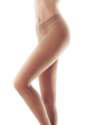 Superlativa 20 Den Seamless Sheer Tights by Omsa