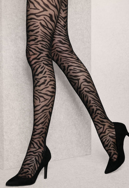 Rafaella 3 Dots Patterned Sheer Tights by Fiore