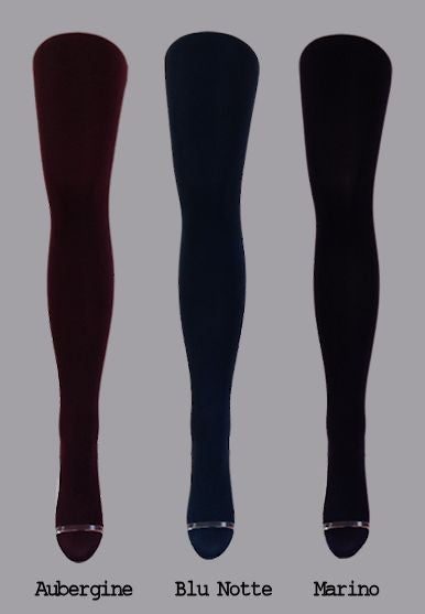 Zafiro 50 Denier Velvet Touch Tights by Cecilia de Rafael