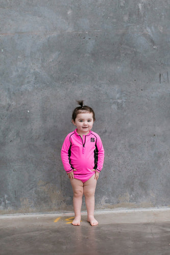 The Pink Rash Vest Set
