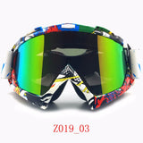 ZDATT Professional Adult Motocross and Skiing Goggles (CE Certified)