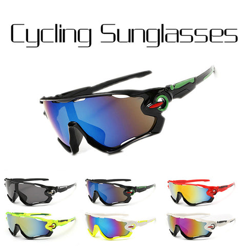 LIFEASY Reflective Bike Goggles Outdoor Sports Bicycle Sunglasses for Men