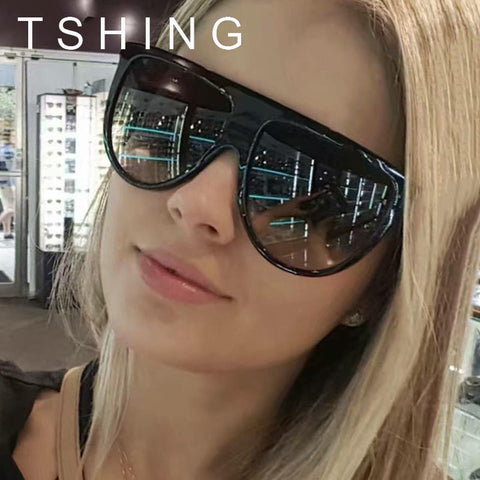 TSHING RAY X318 2017 New Fashion Vintage Flat Top Sunglasses for Women