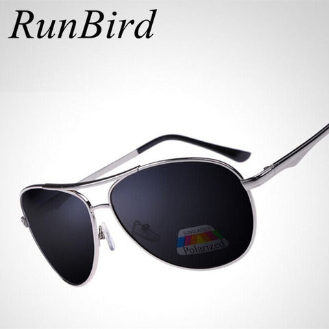 RunBird 2017 Brand Designer Polarized Driving Sunglasses for Men