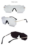 TSHING RAY E165 2017 New Luxury Brand Rimless Sunglasses