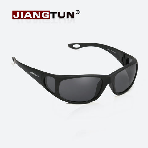 JIANGTUN JT2212 Hot Polarized Anti-UV Driving Sunglasses Side Window Design