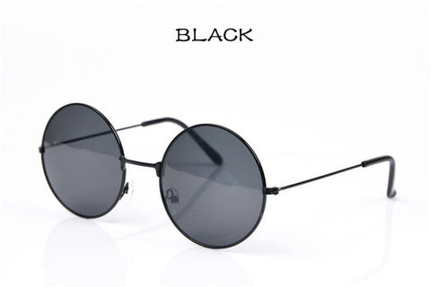 UVLAIK Round Vintage Circle Fashion Sunglasses