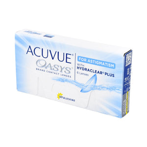 Acuvue Oasys For Astigmatism (6 PCS.)-