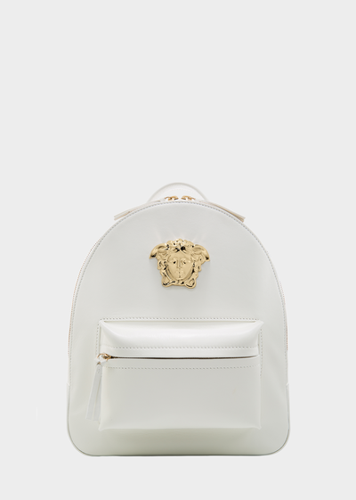 VERSACE  MEDUSA PALAZZO LEATHER BACKPACK