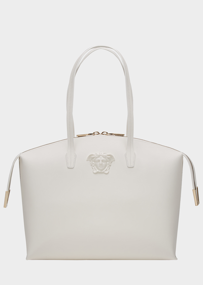 VERSACE PALAZZO CALF LEATHER HANDBAG