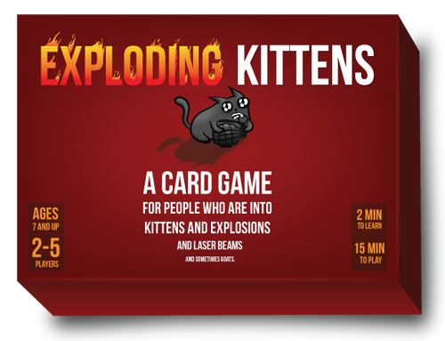 Exploding Kittens - Original Edition Card Game