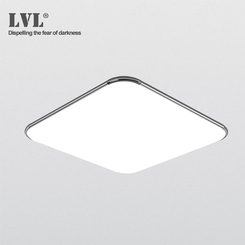 LED Ceiling Light 39 x 39 x 9 cm, non dimmable, emitting color can be set (warm white - normal white - cool white)