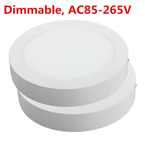 Round Led Downlight, dimmable (20 pieces per set)
