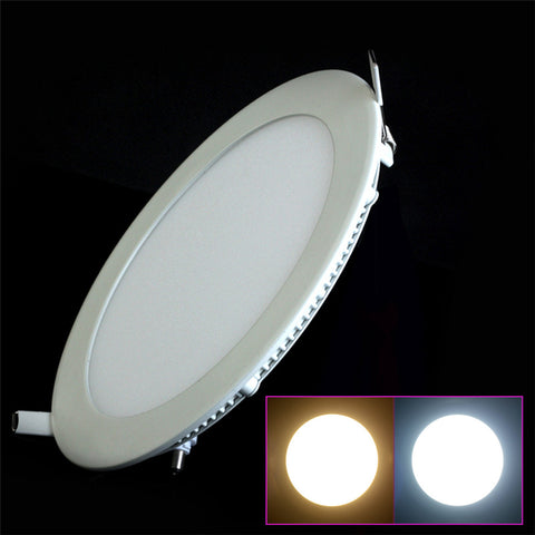 Diimable LED Panel Round/Square