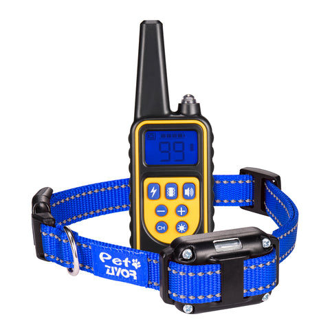 Dog Training Collar with 850Yd Remote (Blue)