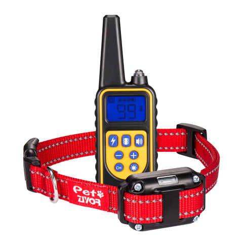 Dog Training Collar with 850Yd Remote (Red)