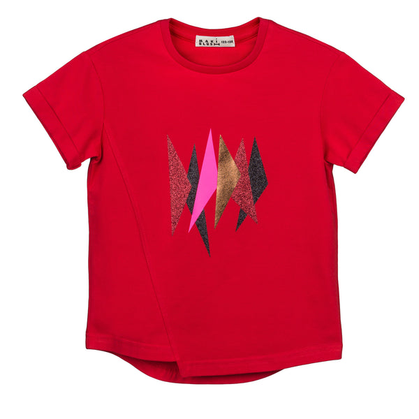 T-shirt Koto red