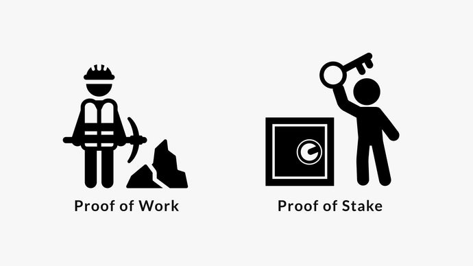 Wat is het verschil tussen 'Proof of Work' en 'Proof of Stake'?