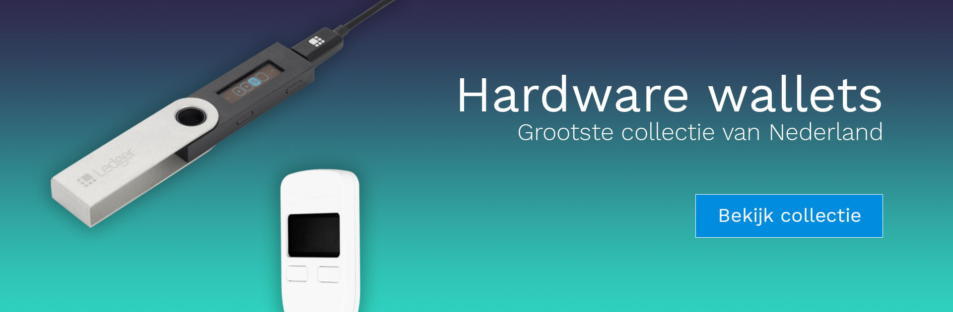 hardware wallets collectie