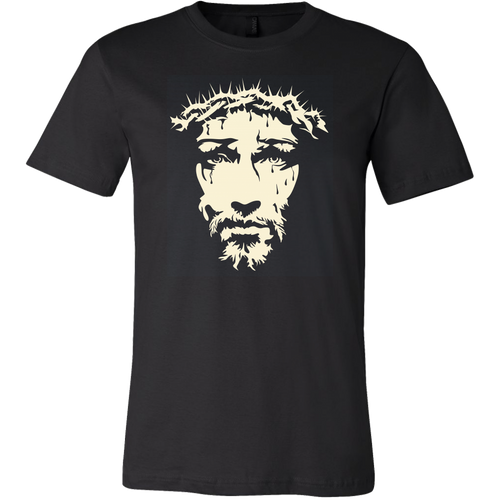 Jesus Face T-Shirt - Women's and Men's