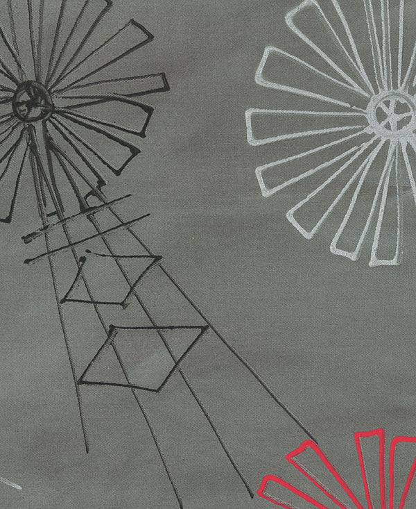 Windmills Fabric