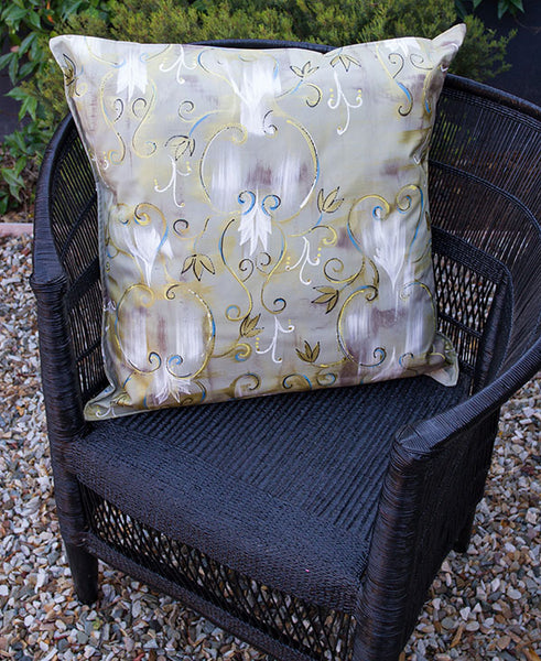 Antique Brocade Scatter Cushion