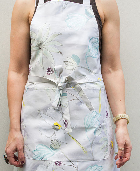 Flower Garden in Neutral Tones Apron