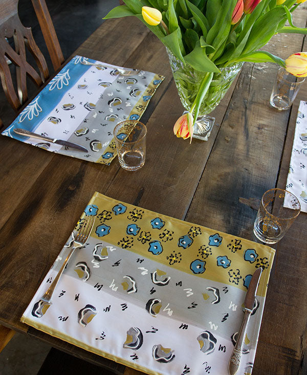 Modern African Stripe Placemats