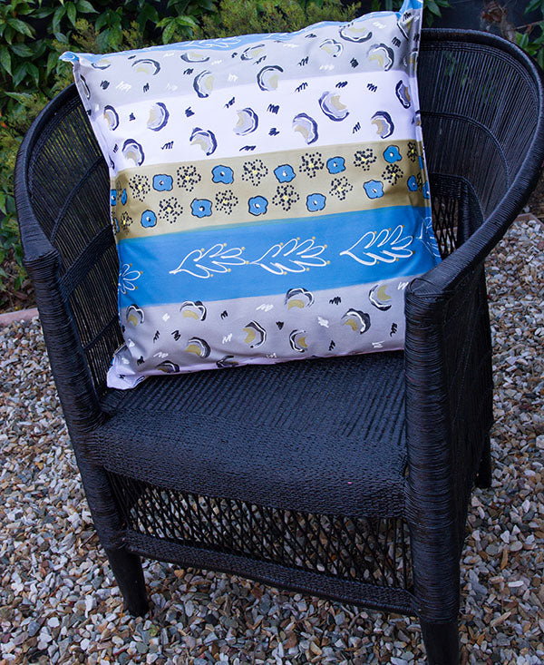 Modern African Stripe Scatter Cushion
