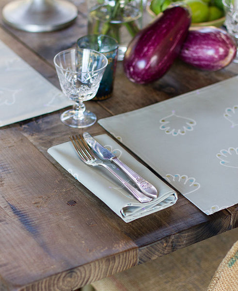 Soft Shell Pattern Napkins