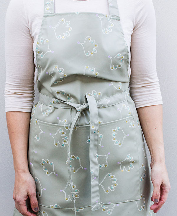 Soft Shell Pattern Apron