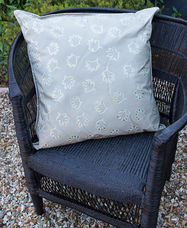 Soft Shell Pattern Scatter Cushion