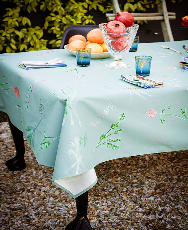 Herbs Tablecloth