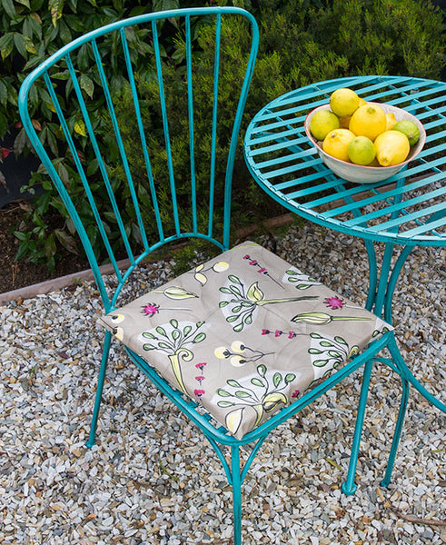 Agapanthus Chair Cushion