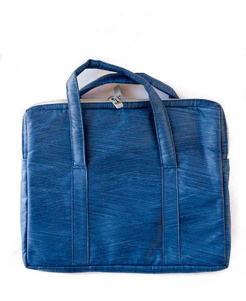 Denim Blue Mac Bag