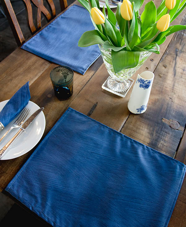 Denim Blue Placemats