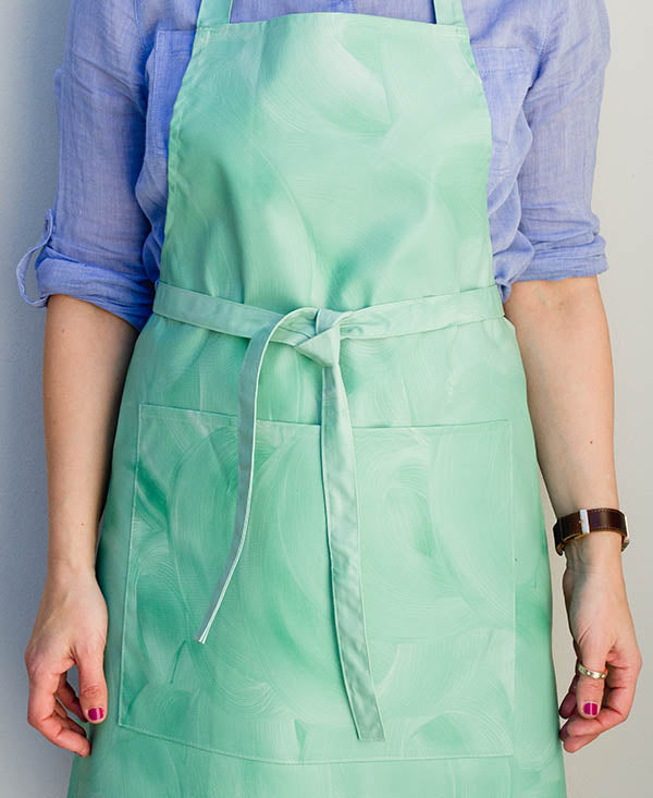Soft Mint Wash Apron