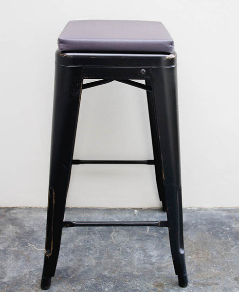 Grey Bar Stool Cushion