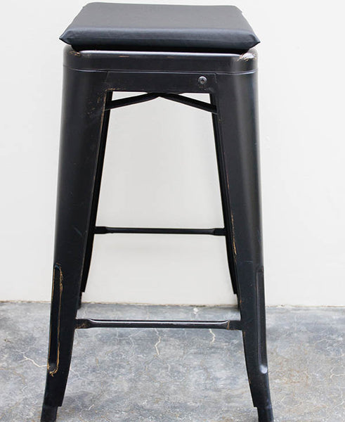 Black Bar Stool Cushion