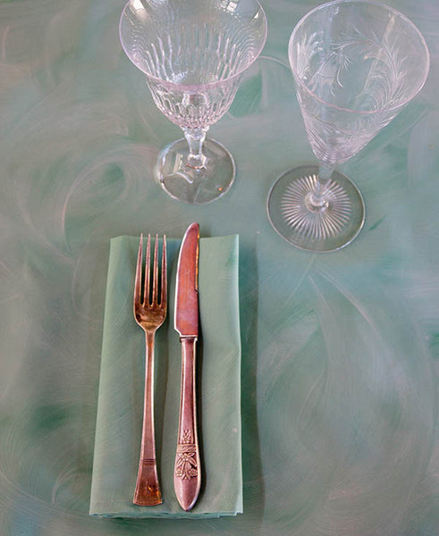 Soft Mint Wash Napkins