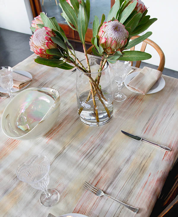 Neutral Tones Tablecloth