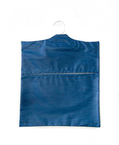 Denim Blue Peg Bag
