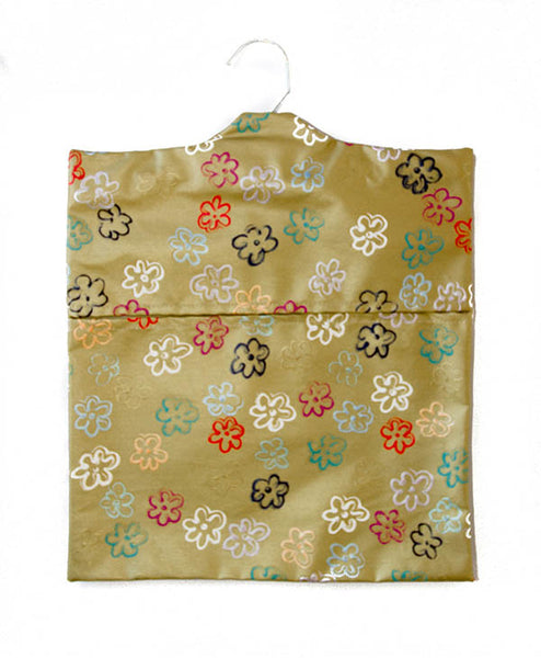 Daisies On Gold Peg Bag