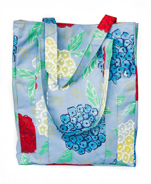 Hydrangeas on Blue Background Alison Shopper
