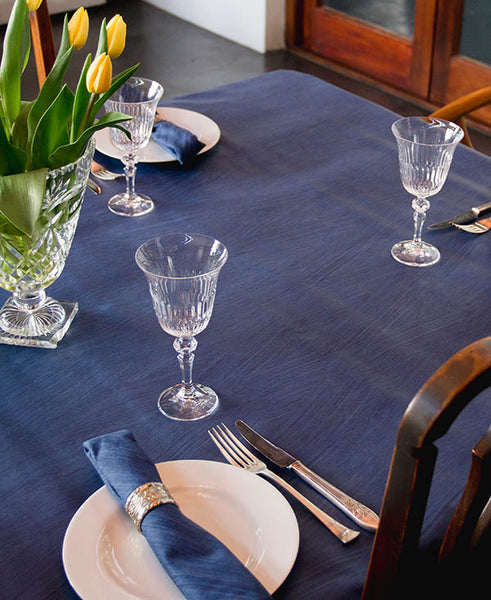 Denim Blue Tablecloth
