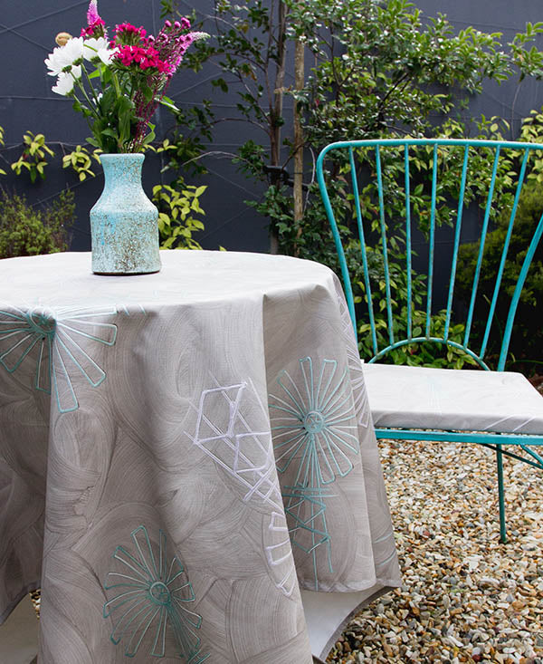 Pastel Windmills Tablecloth